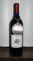 C & Js Blueberry Vineyard Wine Bottle Label
