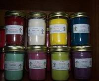 At Home Scentsations Candle Labels