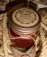 True Texas Scents 8oz Candle Label