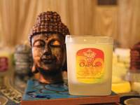OmMade Crafts Mango Scented Candle Label