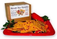 Brown Box Crackers Label