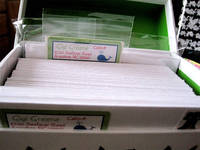 Graceful Correspondence Labels in Recipe Box