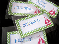 Graceful Correspondence Identification Labels