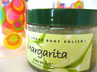 Raw Olive Margarita Body Polish Label