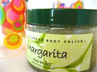 Raw Olive Margarita Body Polish Label