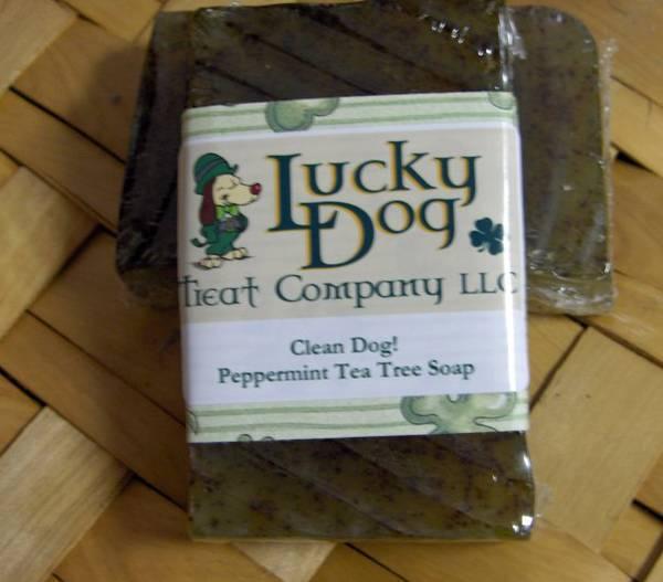 Lucky Dog Treat Label