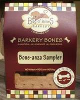 Bag of Bones Barkery Bone-anza Sampler Label