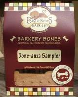 Bag of Bones Barkery Bone-anza Sampler Label