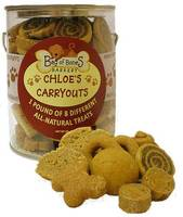 Bag of Bones Barkery Chloes Carryouts Label