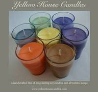 Yellow House Candles Label