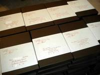 Wedding Box Invitation Labels