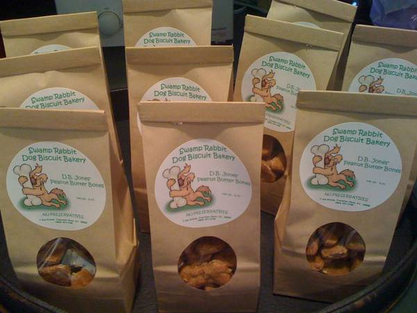 Swamp Rabbit Dog Biscuit Bakery Labels - Customer Ideas