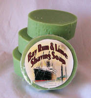 Joshua tree soap works Bay Rum & Lime Shaving Soap