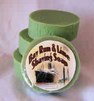 Joshua tree soap works Bay Rum & Lime Shaving Soap