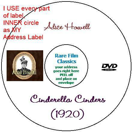 Use every part of your CD/DVD label - circle for your address label
