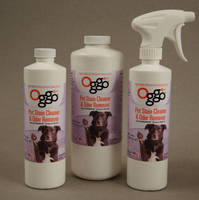 Oggo Pet Stain Cleaner & Odor Remover Container Labels