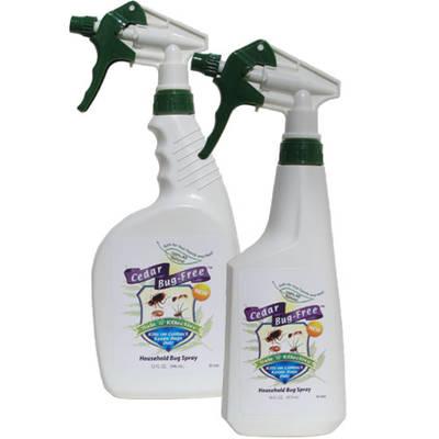 Cedar Bug-Free Household Bug Spray Label
