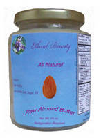 Ethical Bounty Almond Butter Label