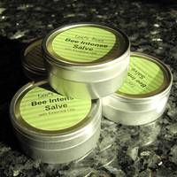 Lee's Bees Bee Intense Salve Label