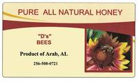 Honey Jar Labels
