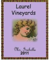 Laurel Vineyards Wine Label