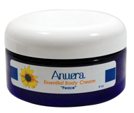 Anuera's All-Natural Body Cream Labels