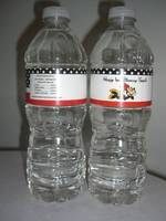 Sophia's Personalized Water Bottle Labels
