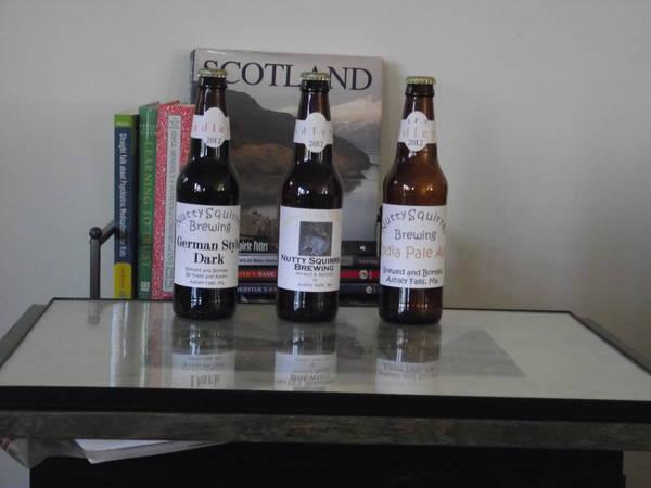 Todd Dudley's Beer bottle label