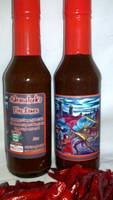 Adramelech's Fire Sauce Labels