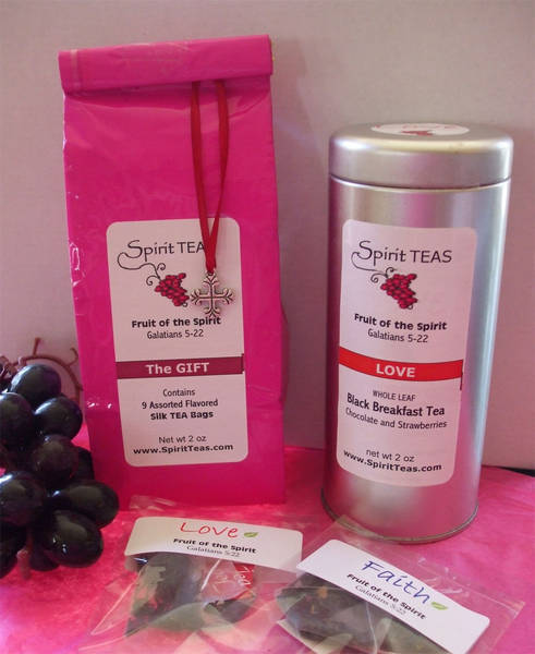 justTEA Tea Packaging Labels