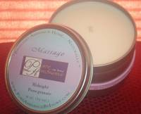 Pure Ambiance by Ivory Soy Massage Candle Label