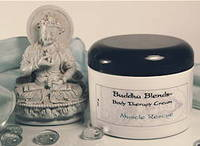 Buddha Blends Body Therapy Cream Labels