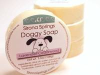 Sirona Springs Doggy Soap Label