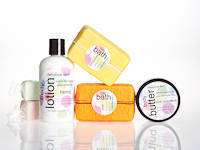 Delicious skin body butter, lotion and bath bar Labels