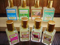 Passionfruit Island's perfume oil labels
