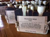 Briny Bar Soap's Chocolate Mint Vegan Soap