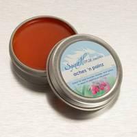 Spirit Horse Herbals Aches n Painz Label