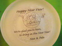 New Year's Eve Party Favor Candle Label