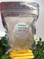 Chamomile Bath Tea Label
