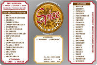 The Spice Quarter Label