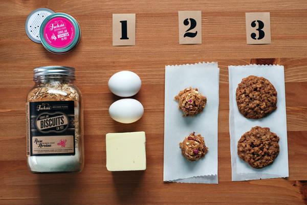 fuchsia epicerie fleur's cookie jar labels - Customer Ideas ...