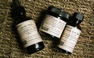 Cabin Creek Apothecary Labels