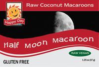 Half Moon Macaroon Labels