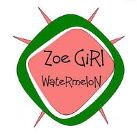 Zoe Girl Creation's Watermelon Candle Label
