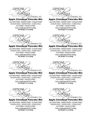 Options Baking Company, Inc.
