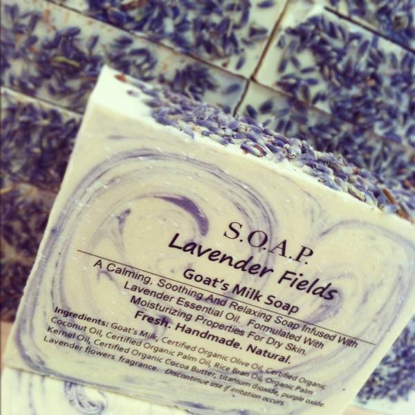 handmade soap labels lavender fields soap labels customer ideas 9878