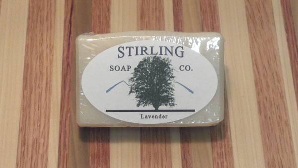 Stirling Soap Labels