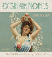 O'Shannon's Irish Red Beer Labels