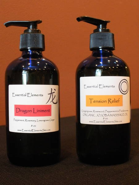 Essential Elements Aromatherapy Labels