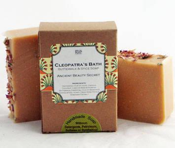 north hill soap company cleopatras bath soap labels